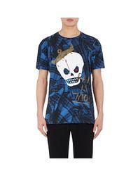 Vivienne Westwood   Blue Skull-print Cotton T for Men   Lyst