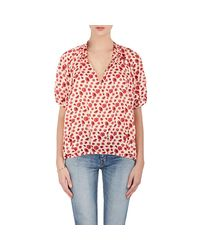 Rhié | Red Floral Cotton | Lyst