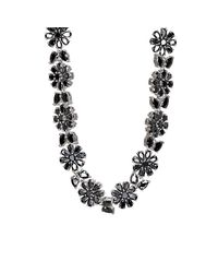 Fallon | Multicolor Monarch Florette Necklace | Lyst