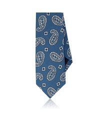 Drake's | Blue Paisley-print Linen for Men | Lyst