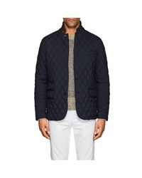 Ralph Lauren Purple Label - Blue Slim Devon Quilted Tech Sportcoat for Men - Lyst