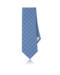 Paolo Albizzati - Blue Dotted Textured Silk Necktie for Men - Lyst