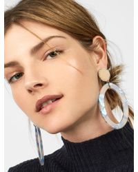 BaubleBar - Multicolor Triana Hoop Earrings - Lyst