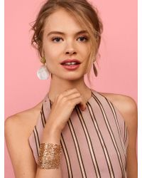 BaubleBar - Metallic Milos Drop Earrings - Lyst