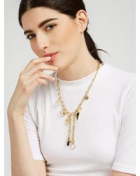 BaubleBar - Metallic Lockdown Y-chain - Lyst