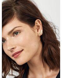 BaubleBar - Metallic Celine Ear Crawlers - Lyst