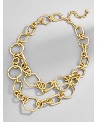 BaubleBar - Metallic Chain-link Statement Necklace - Lyst