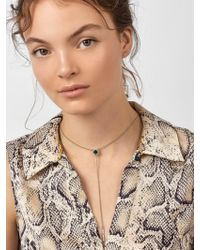 BaubleBar - Multicolor Madeline Druzy Y-chain Necklace - Lyst