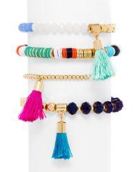 BaubleBar - Multicolor Antigua Bracelet Quartet - Lyst
