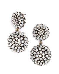 BaubleBar | White Crystal Dandelion Drops | Lyst