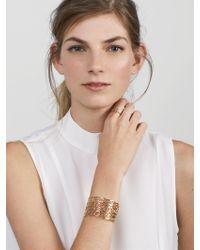 BaubleBar - Metallic Tabea Cuff Bracelet - Lyst