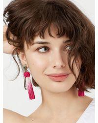 BaubleBar | Multicolor Sarina Tassel Earrings | Lyst