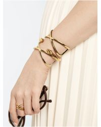 BaubleBar - Metallic Treasure Cuff-gray - Lyst