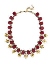 BaubleBar - Multicolor Crystal Wreath Collar - Lyst