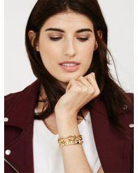 BaubleBar | Metallic Lip Service Bracelet | Lyst