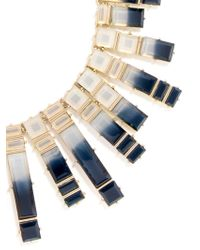 BaubleBar - Metallic Mosaic Collar - Lyst