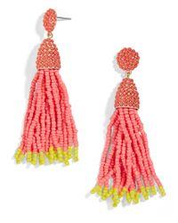 BaubleBar - Multicolor Ombre Piñata Tassel Drops - Lyst