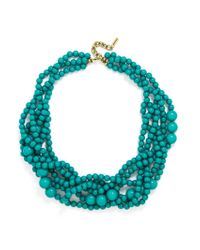 BaubleBar | Blue Bubblestream Collar | Lyst