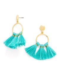 BaubleBar - Blue Honolulu Drops-turquoise - Lyst