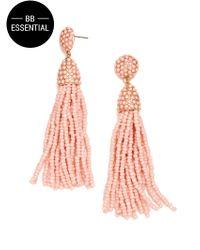 BaubleBar - Pink Piã±ata Tassel Drops - Lyst