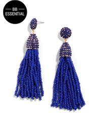 BaubleBar | Blue Piñata Tassel Drops | Lyst