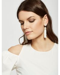 BaubleBar | White Piñata Tassel Earrings | Lyst
