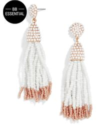 BaubleBar | Multicolor Piñata Tassel Earrings | Lyst