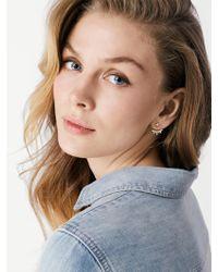 BaubleBar - Metallic Caitlin Ear Jackets - Lyst