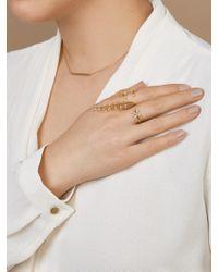 BaubleBar - Metallic Peacemaker Ring - Lyst