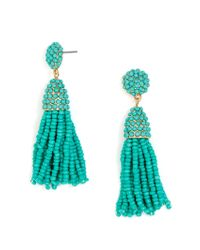 BaubleBar | Multicolor Mini Piñata Tassel Earrings | Lyst