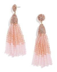 BaubleBar | Pink Gem Piñata Tassel Drops | Lyst