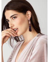 BaubleBar | Purple Gem Piñata Tassel Drops | Lyst