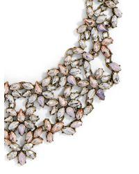 BaubleBar | Multicolor Majesty Crystal Bib | Lyst