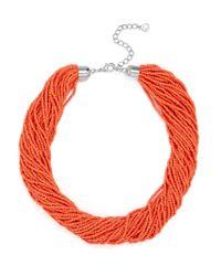 BaubleBar | Multicolor Myra Beaded Collar | Lyst