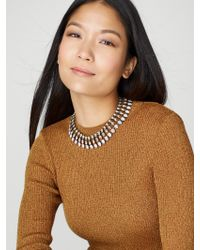BaubleBar - Brown Sevanna Crystal Collar - Lyst