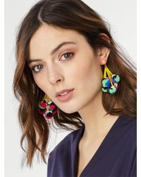 BaubleBar | Blue Caicos Pom Pom Earrings | Lyst