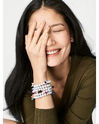 BaubleBar - Multicolor Cinco Beaded Bracelet - Lyst