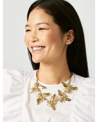 BaubleBar - Multicolor Beehive Necklace - Lyst