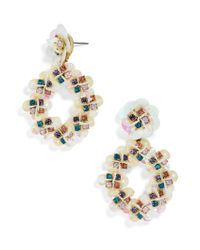 BaubleBar | Multicolor Peony Drops | Lyst