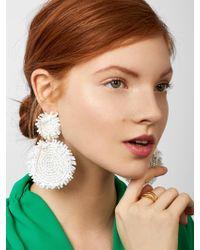 BaubleBar - Metallic Rianne Drop Earrings - Lyst