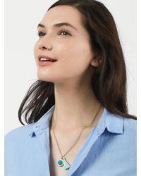 BaubleBar - Metallic Hana Pendant Necklace - Lyst
