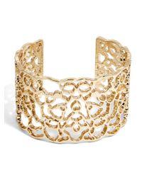 BaubleBar | Metallic Tabea Cuff Bracelet | Lyst