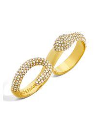 BaubleBar   Metallic Vipress Snake Ring   Lyst