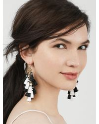 BaubleBar | Black Rosalita Tassel Earrings | Lyst
