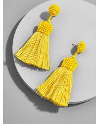 BaubleBar - Multicolor Sunglow Tassel Earrings - Lyst