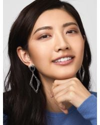 BaubleBar - Multicolor Davette Hoop Earrings - Lyst