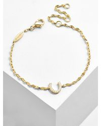 BaubleBar - Multicolor Fortuna 18k Gold Plated Bracelet - Lyst