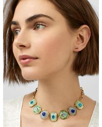 BaubleBar - Multicolor Rubi Resin Statement Necklace - Lyst