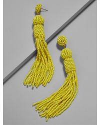 BaubleBar - Yellow Mariachi Tassel Earrings - Lyst