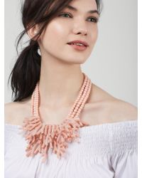 BaubleBar | Pink Coral Reef Collar | Lyst